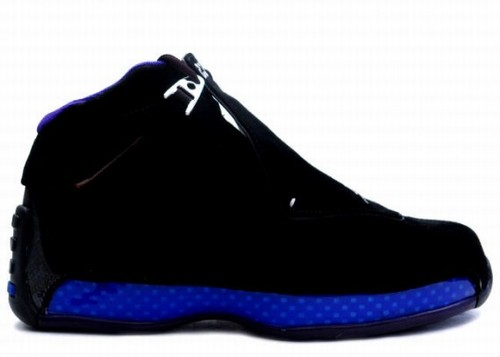Air Jordan 18 Retro Black Blue