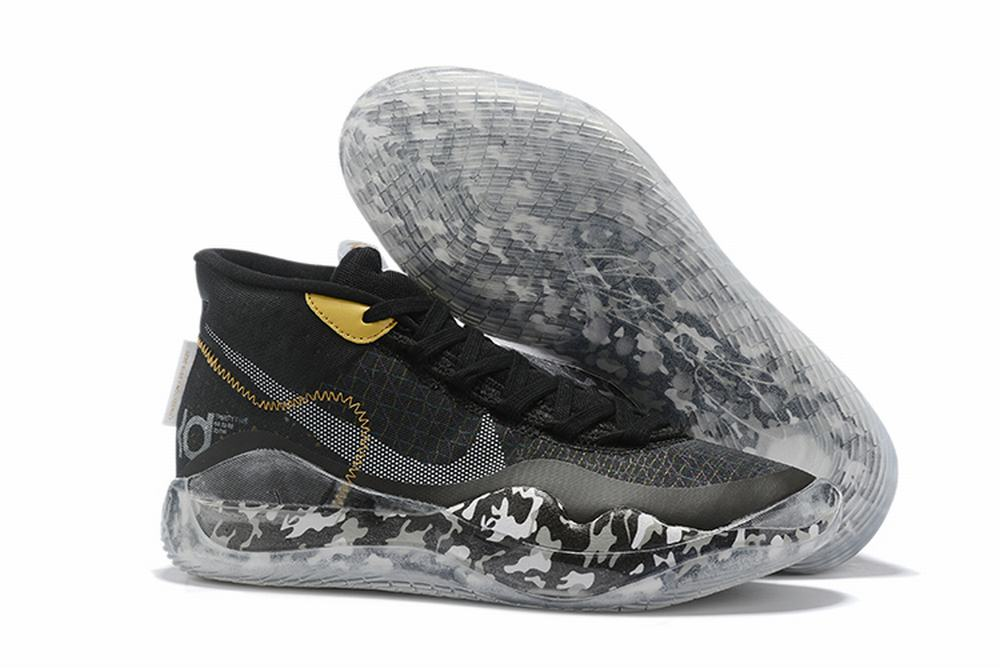 Nike KD 12 Men Shoes Black Camo