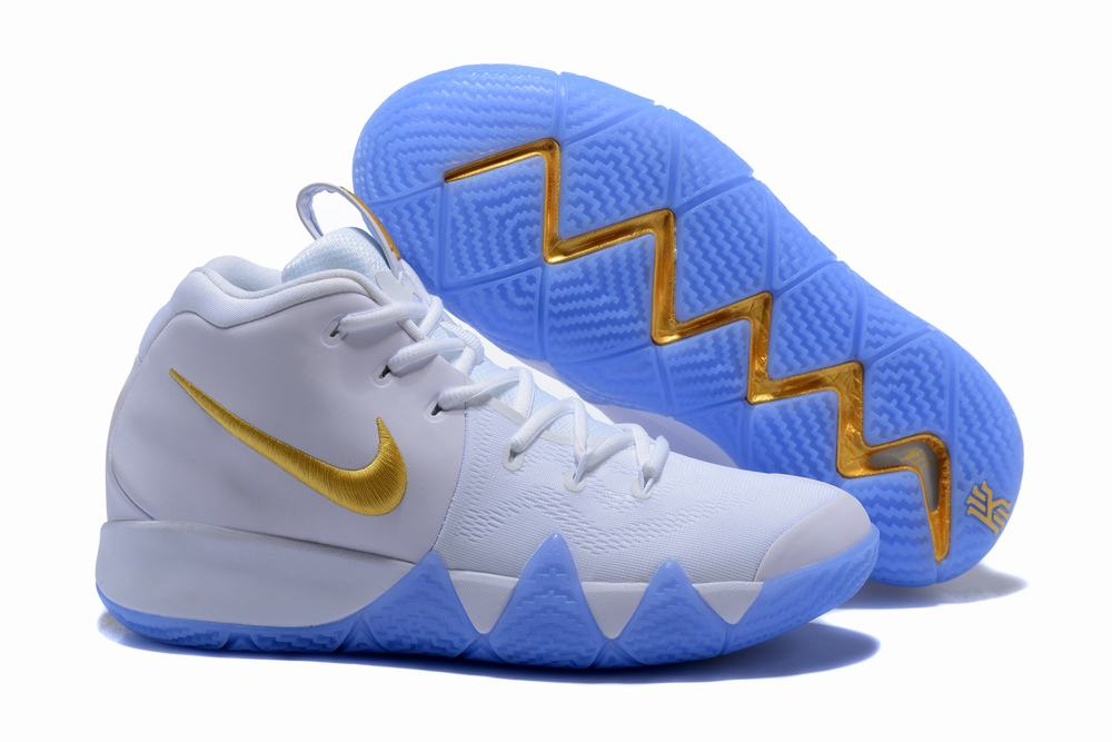 Nike Kyrie 4 White Gold
