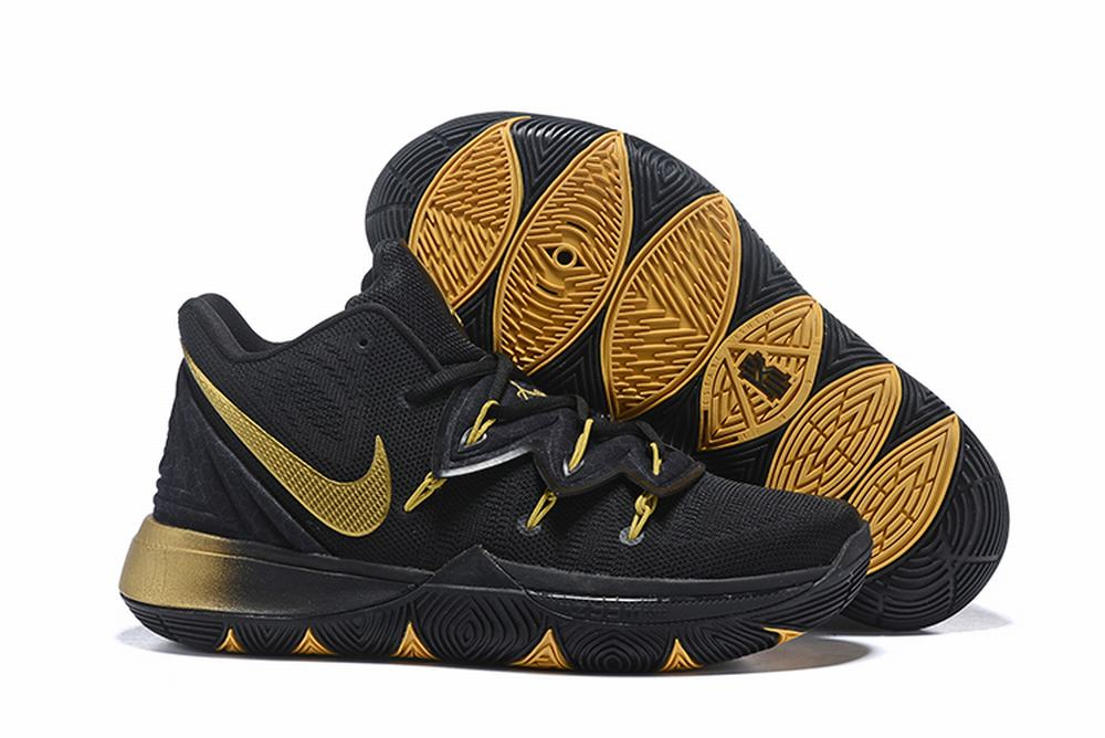 Nike Kyrie 5 Black Gold