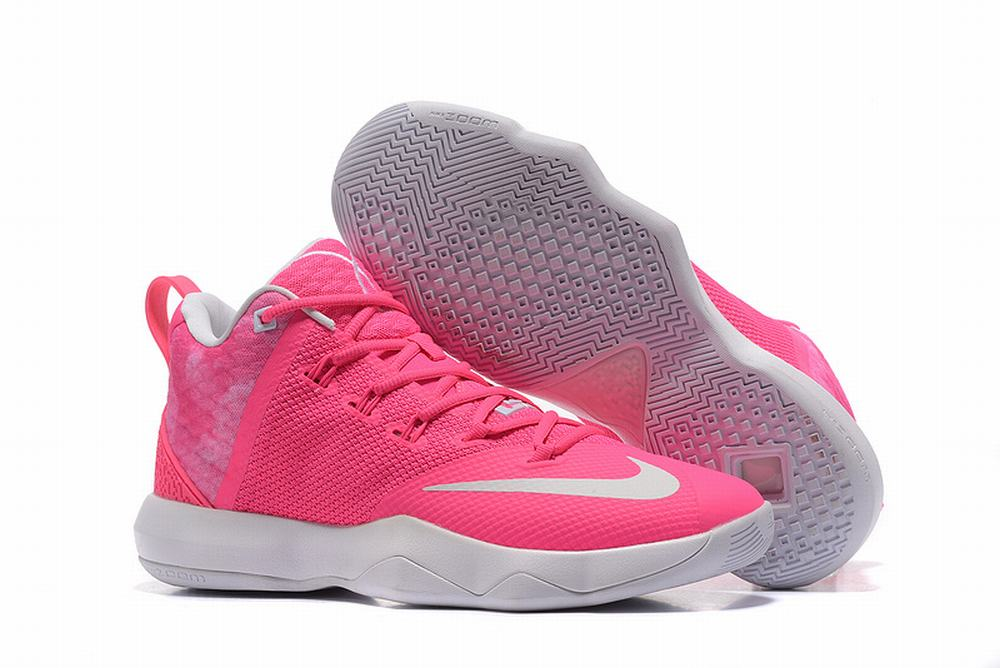 Nike Lebron James Ambassador 9 Shoes Pink