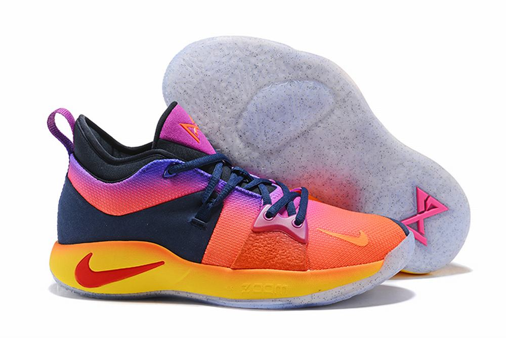 Nike PG 2 Rainbow Yellow