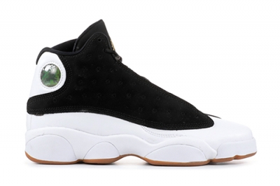 Air Jordan 13 Black Metallic Gold