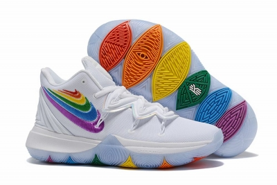 Nike Kyrie 5 Six Colour logo