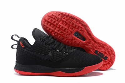 Nike Lebron James Witness 3 Shoes Black Red